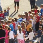 Fête de l'école Sainte Bernadette à Tarbes (65) le 23 juin