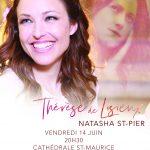 Concert de Natasha Saint Pier au profit de l'Ecole Saints Louis et Zélie Martin le vendredi 14 juin 2019