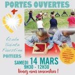 Portes Ouvertes de l'école Sainte Faustine -POITIERS - 14 mars 2020